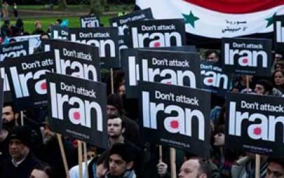 """فریاد """"جنگ با ایران، هرگز"""" در قلب آمریکا+تصاویر"""