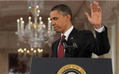 آقای اوباما ، دفاع از آزادی بیان مردم ایران پیشکشتان ، صدای معترضین امریکا را بشنوید !