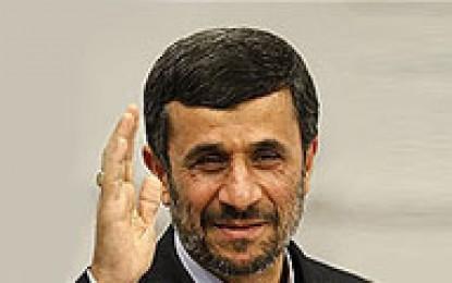 تبریک نوروزی احمدینژاد به دبیرکل سازمان ملل متحد