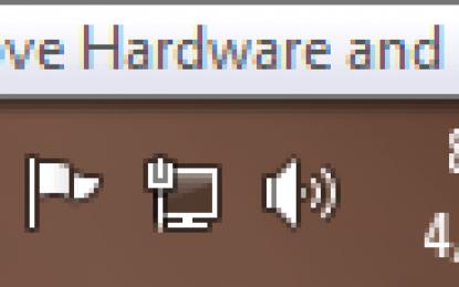 طریقه جدا کردن درایو های USB از کامپیوتر