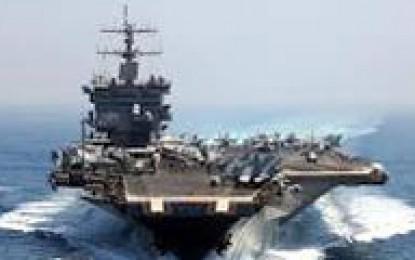 """بزرگترین ناو آمریکایی برای """"پاسخگویی"""" به سپاه آماده میشود"""