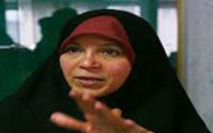 حکم دادگاه فائزه هاشمی اجرا می شود+عکس